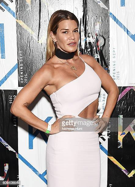 Jenne Lombardo attends the Kola House Opening Party at Kola House on September 20 2016 in New York City