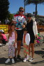 Jenner Family Kendall Bruce Jenner Kylie and Kris at the 22nd Annual Santa Barbara Triathlon August 232003 in Santa Barbara California Bruce Jenner...