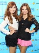 Jennessa Rose and Julianna Rose attend the Mattel Party On The Pier Benefiting Mattel Children's Hospital UCLA at Pacific Park Santa Monica Pier on...