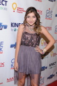 Jennessa Rose attends the XBOX Miracle Of Music Benefit In Honor Of The 2011 AMAs Hosted By Kevin Jonas And Special Guest DJ 'CSquared' Connor Cruise...