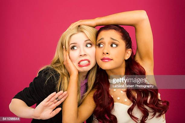 Jennette McCurdy and Ariana Grande