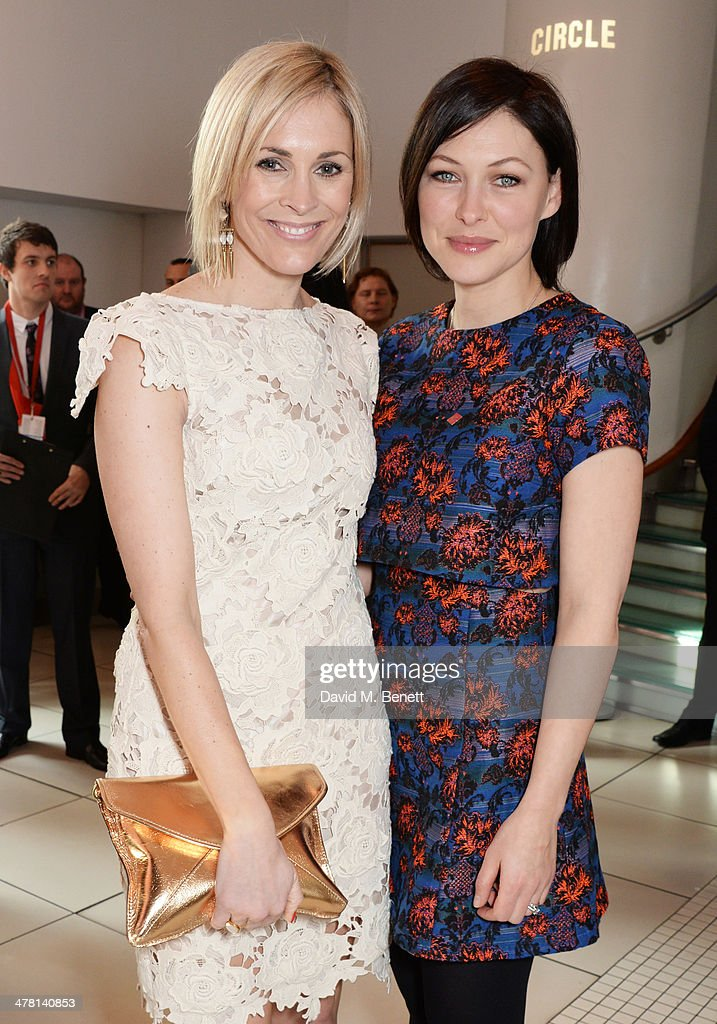 Jenni Falconer (L) and Emma Willis attend The Prince's Trust & Samsung Celebrate Success Awards at Odeon Leicester Square on March 12, 2014 in London, England.