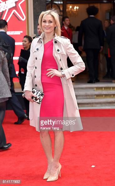 Jenni Falconer arrives for the Prince's Trust and Samsung Celebrate Success Awards at the London Palladium on March 7 2016 in London England