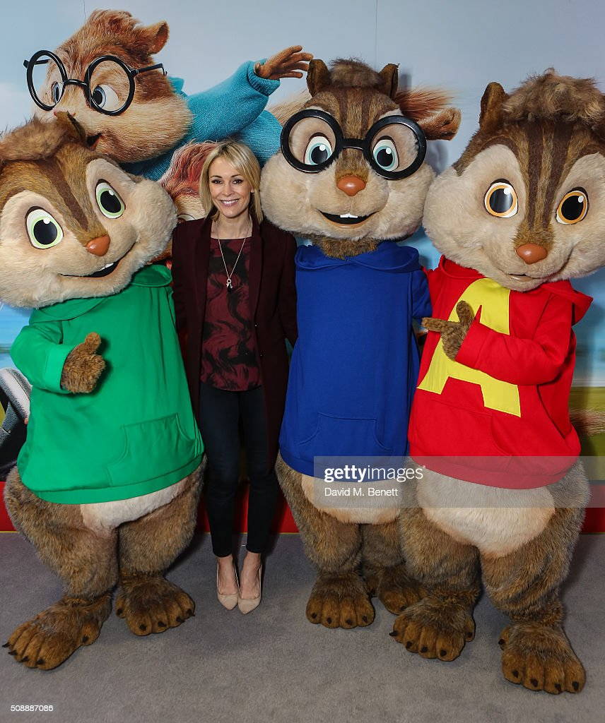 Jenni Falconer attends a Gala Screening of 'Alvin & The Chipmunks: The Road Chip' at Vue West End on February 7, 2016 in London, England.