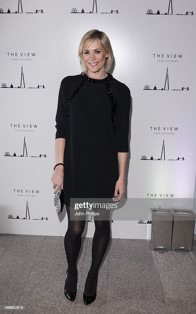 Jenni Falconer attends the 1st birthday party at The View from The Shard on February 4, 2014 in London, England.