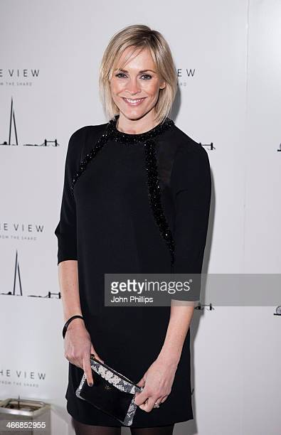 Jenni Falconer attends the 1st birthday party at The View from The Shard on February 4 2014 in London England