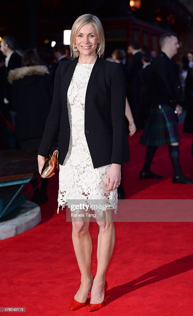 Jenni Falconer attends the 2014 British Academy Games Awards at Tobacco Dock on March 12, 2014 in London, England.