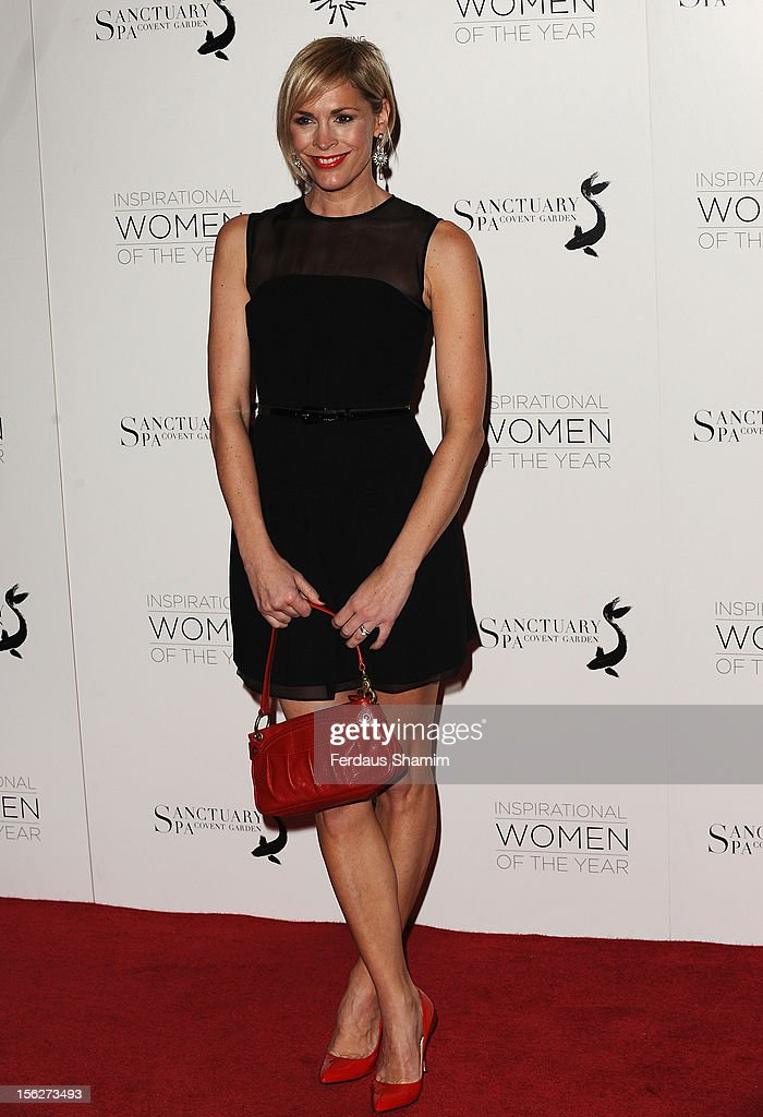 Jenni Falconer attends The Daily Mail Inspirational Women of the Year Awards sponsored by Sanctuary Spa and in aid of Wellbeing of Women at Marriott Hotel Grosvenor Square on November 12, 2012 in London, England.