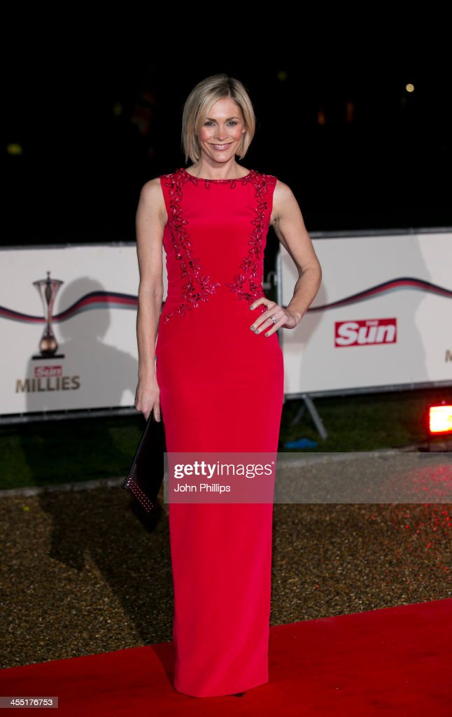 Jenni Falconer attends The Sun Military Awards at National Maritime Museum on December 11, 2013 in London, England.