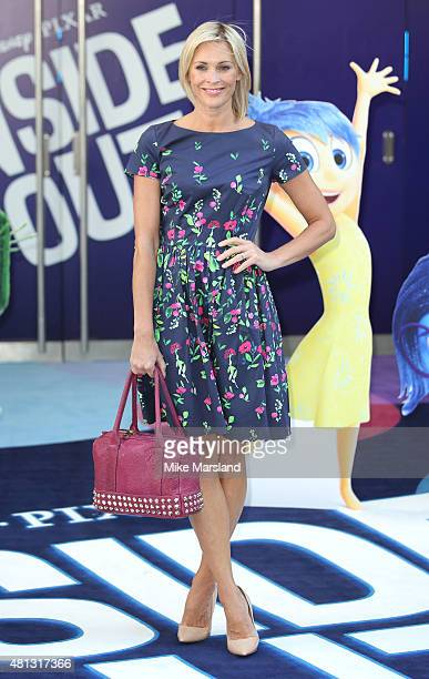 Jenni Falconer attends the UK Gala Screening of 'Inside Out' at Odeon Leicester Square on July 19 2015 in London England