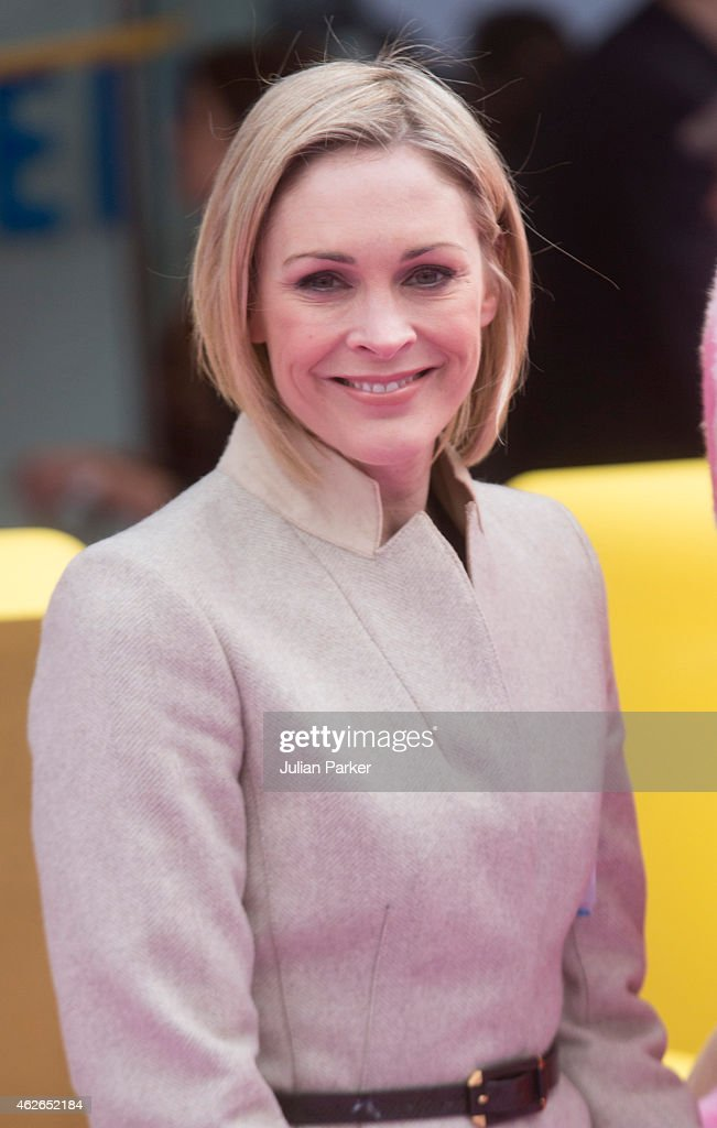 Jenni Falconer attends the UK premiere of 'Peppa Pig: The Golden Boots' at Odeon Leicester Square, on February 1, 2015 in London, England.