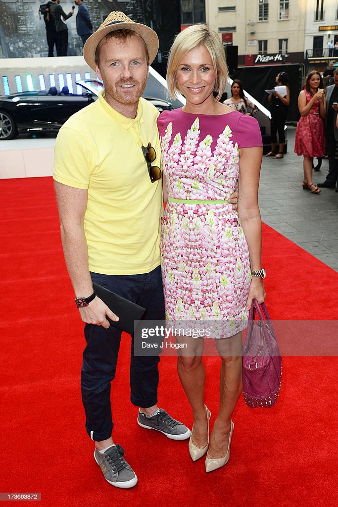 Jenni Falconer attends the UK premiere of 'The Wolverine' at The Empire Leicester Square on July 16, 2013 in London, England.