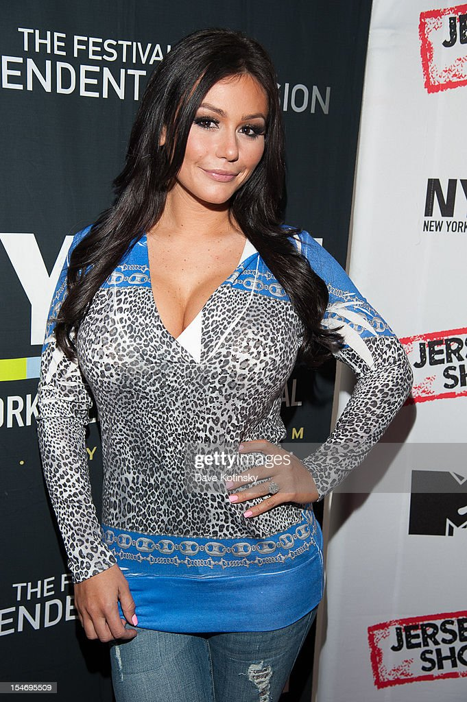Jenni Farley attends 'Love, Loss, (Gym, Tan) and Laundry: A Farewell To The Jersey Shore' during the 2012 New York Television Festival at 92Y Tribeca on October 24, 2012 in New York City.