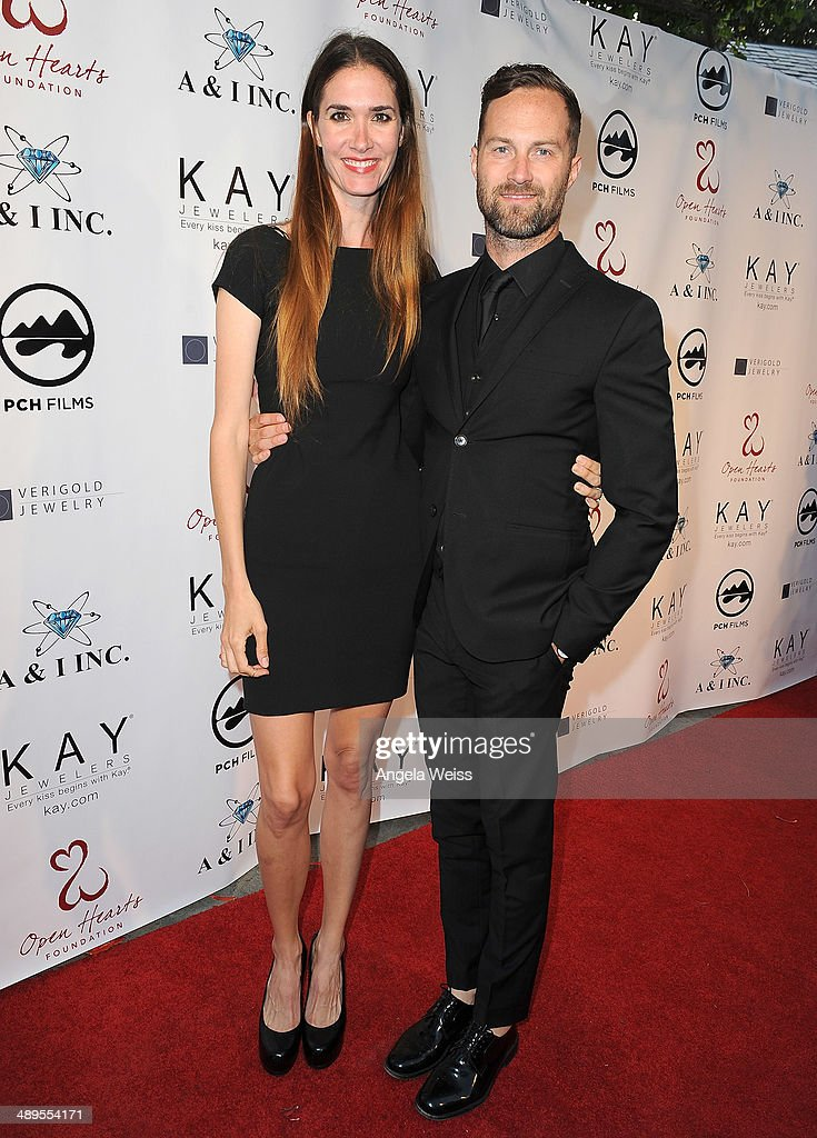 Jenni Flynn and Chris Adams attend the 'Open Hearts Foundation Gala' on May 10, 2014 in Malibu, California.