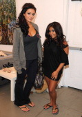 Jenni 'JWOWW' Farley and Nicole 'Snooki' Polizzi visit Prive Hair Salon on June 6 2010 in Los Angeles California