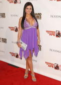 Jenni 'JWoww' Farley arrives at the MTV Series Premiere of 'The Hard Times of RJ Berger' and 'Warren The Ape' at Trousdale on June 7 2010 in West...