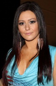 Jenni 'JWoww' Farley attends bebe Kardashian Fall Collection at Stage 37 on February 16 2010 in New York City