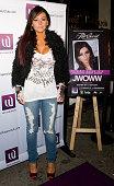 Jenni 'JWoww' Farley attends Club Whisper party hosted by 'JWoww' on March 24 2011 in Philadelphia Pennsylvania