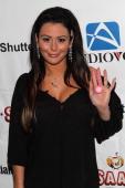 Jenni 'JWOWW' Farley attends her Birthday Celebration at Drunken Monkey on February 21 2014 in the Staten Island borough of New York City