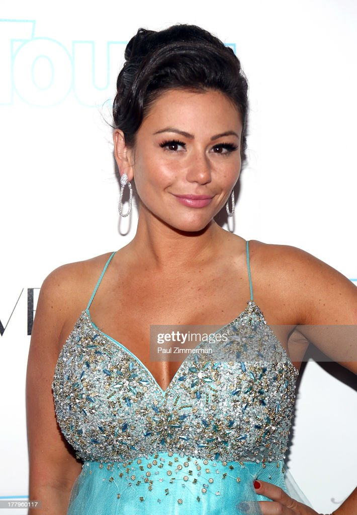 Jenni 'JWoww' Farley attends In Touch Weekly's 2013 Icons & Idols event at FINALE Nightclub on August 25, 2013 in New York City.