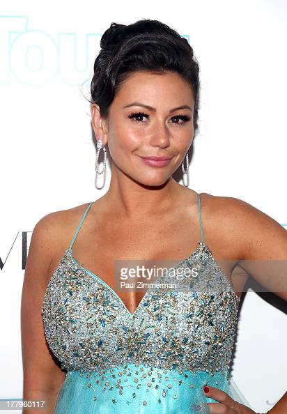 Jenni 'JWoww' Farley attends In Touch Weekly's 2013 Icons Idols event at FINALE Nightclub on August 25 2013 in New York City