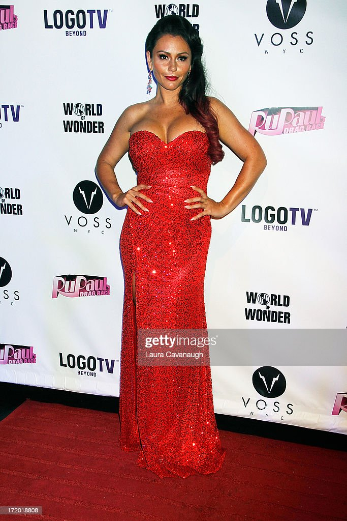 Jenni 'JWoww' Farley attends Logo TV's Official Pride NYC 2013 Event at Highline Ballroom on June 30, 2013 in New York City.