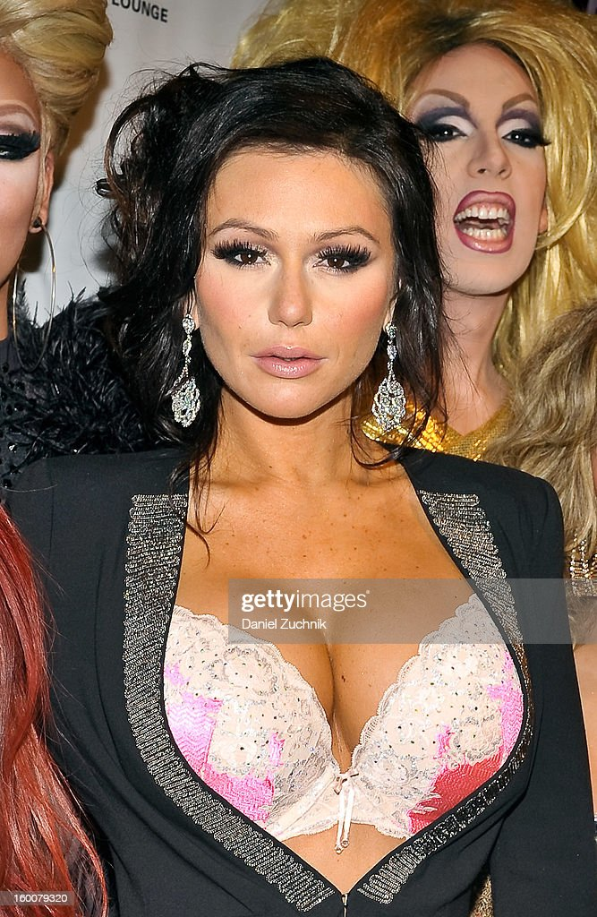 Jenni 'Jwoww' Farley attends the 'RuPaul's Drag Race' season 5 party at XL Nightclub on January 25, 2013 in New York City.