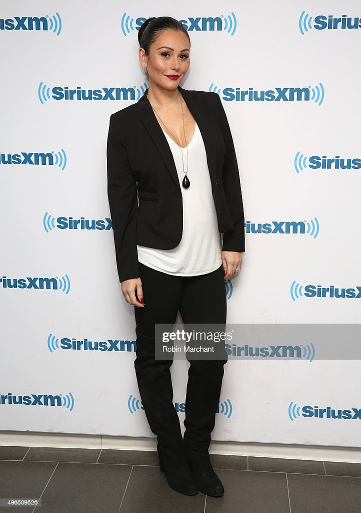 Jenni 'JWoww' Farley visits at SiriusXM Studios on November 10, 2015 in New York City.