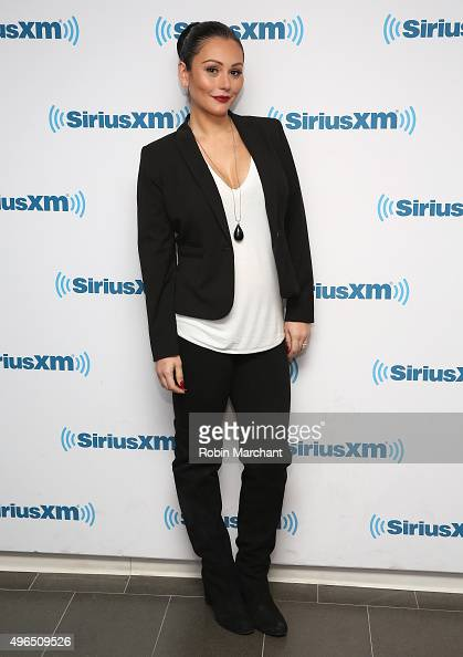Jenni 'JWoww' Farley visits at SiriusXM Studios on November 10 2015 in New York City