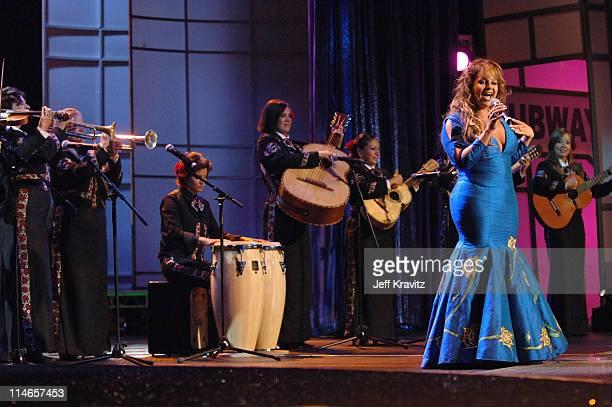Jenni Rivera during El Premio de la Gente Latin Music Fan Awards 2005 Show at The Forum in Los Angeles California United States