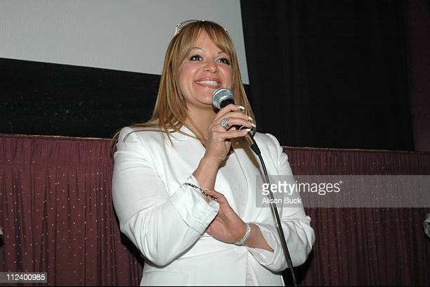Jenni Rivera musician during 2005 Los Angeles Film Festival 'To The Other Side' Screening in Los Angeles California United States