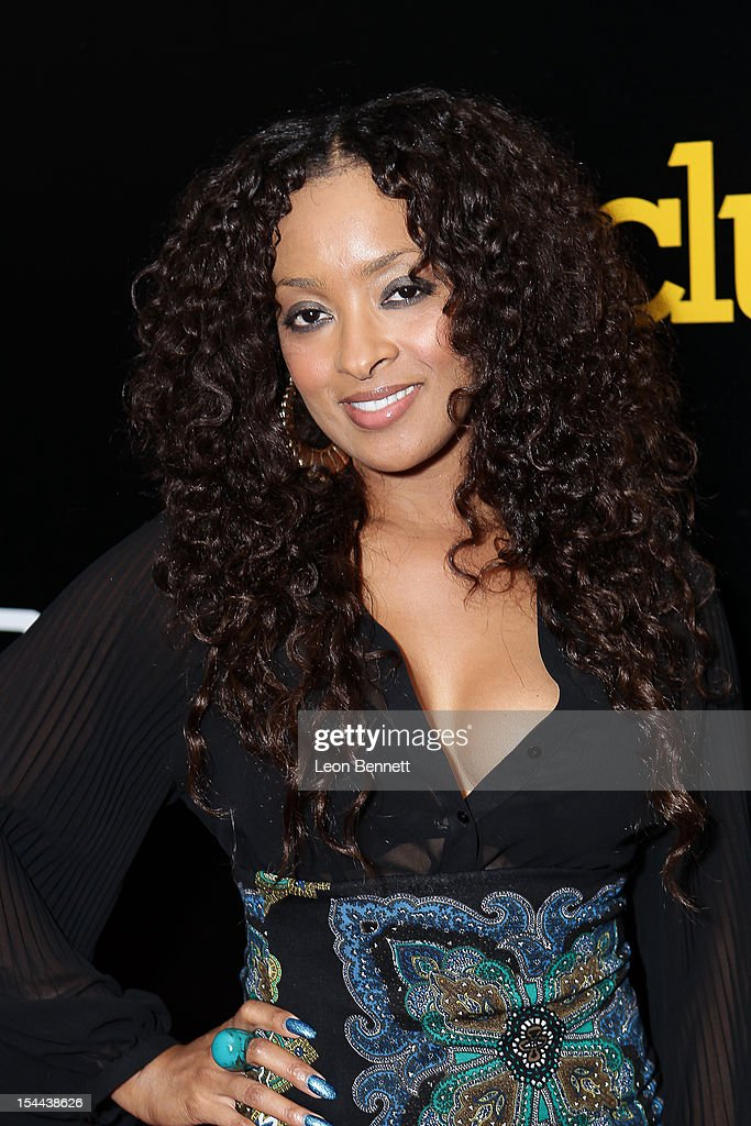 Jennia Fredrique arrives at the J. Cole Performs At Footaction's 'Own The Stage' Celebration at W Hollywood on October 19, 2012 in Hollywood, California.