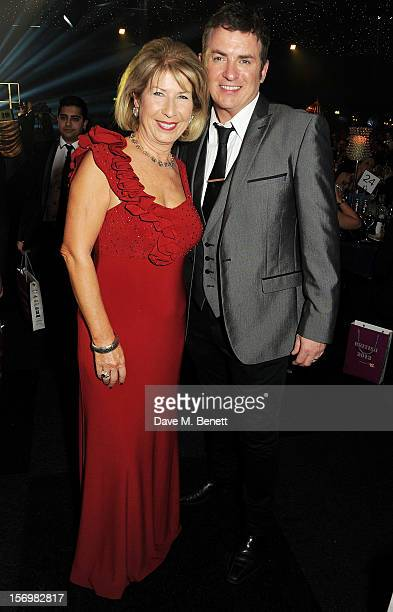 Jennie Bond and Shane Richie attend the 8th annual British Curry Awards at Battersea Evolution on November 26 2012 in London England