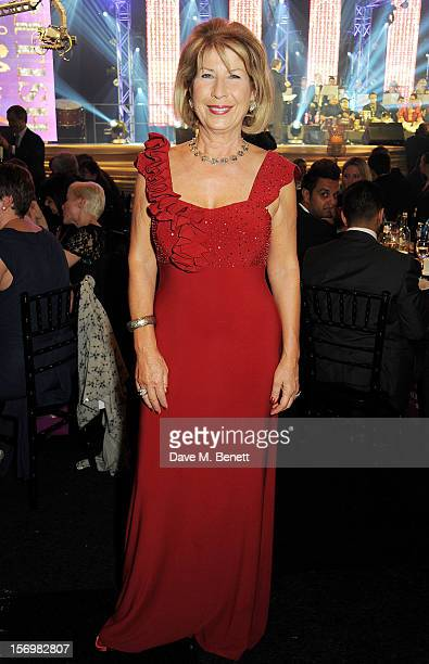 Jennie Bond attends the 8th annual British Curry Awards at Battersea Evolution on November 26 2012 in London England