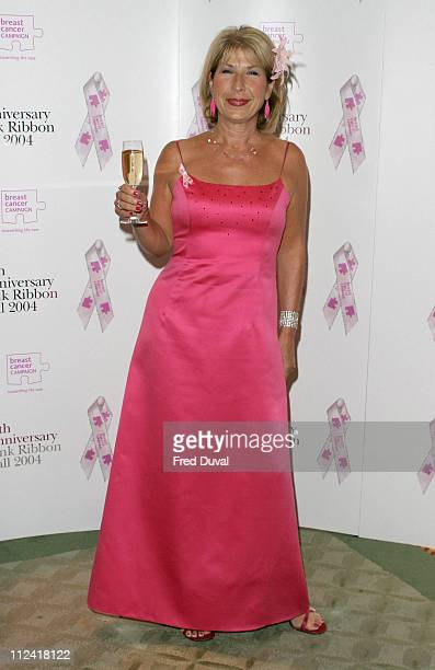 Jennie Bond during 10th Anniversary Pink Ribbon Ball in Aid of the Breast Cancer Campaign at Dorchester Hotel in London in London United Kingdom