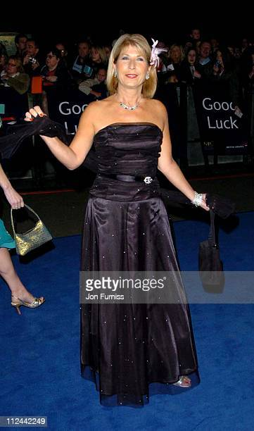 Jennie Bond during 2004 National Television Awards Arrivals at Royal Albert Hall in London Great Britain