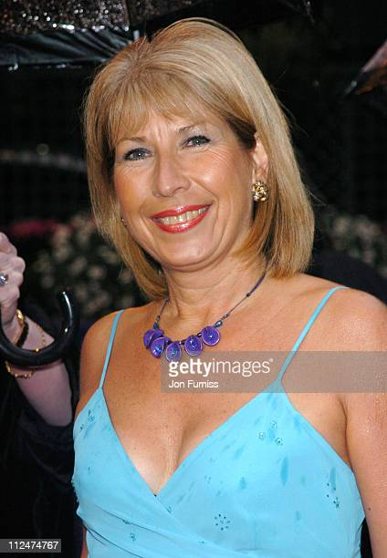 Jennie Bond during 50th Annual BAFTA Television Awards Outside Arrivals at Grosvenor House in London United Kingdom
