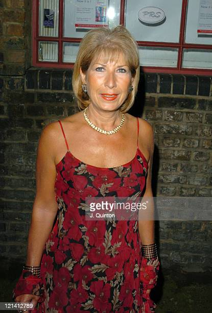 Jennie Bond during 'I'm A CelebrityGet Me Out Of Here' Third Anniversary Party at Delfina Gallery in London Great Britain