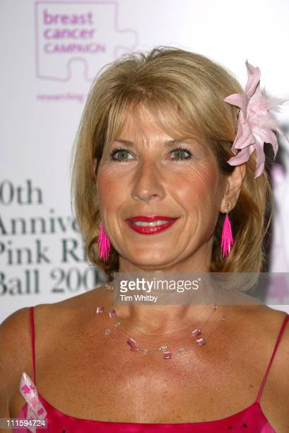 Jennie Bond during The 10th Anniversary Pink Ribbon Ball at Dorchester Hotel in London Great Britain