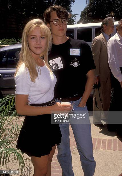 Jennie Garth and Jeremy London at the ECO's 4th Entertainment Conference on Politics Environment UCLA Westwood
