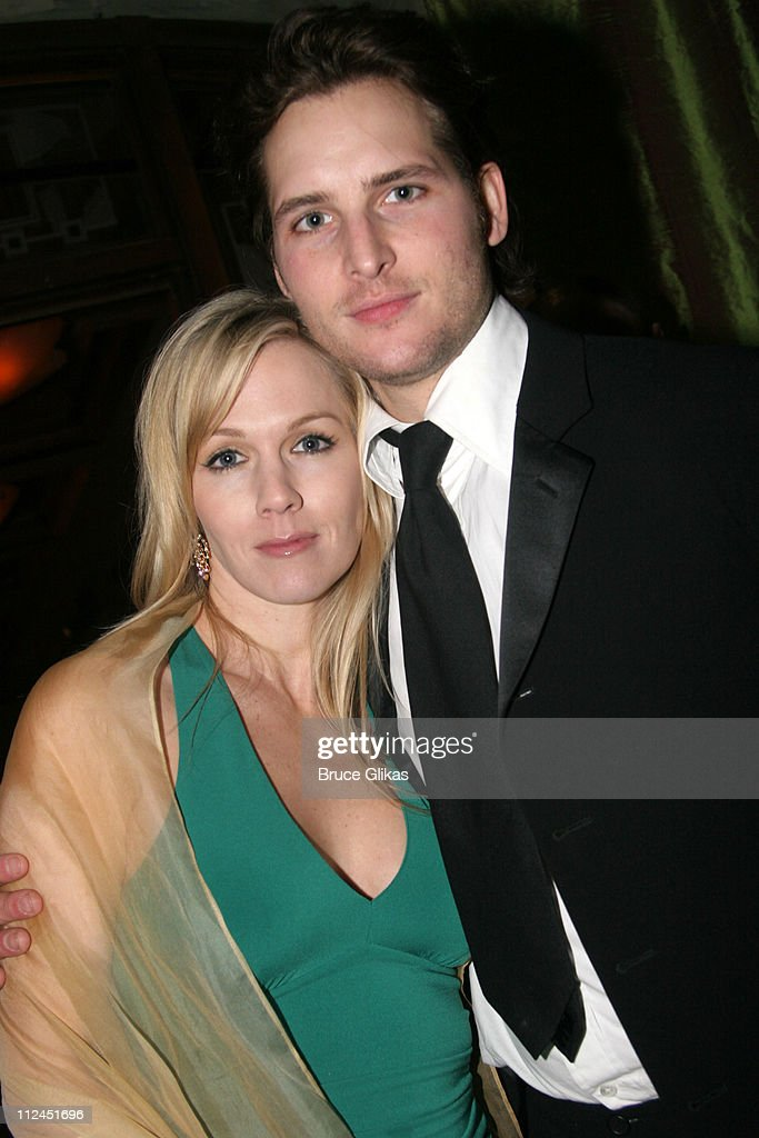 Jennie Garth and Peter Facinelli during 2005 Screen Actors Guild Awards HBO Post SAG Awards Dinner at Spago Restaurant in Beverly Hills California...