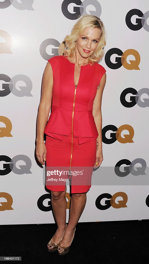 Jennie Garth arrives at the GQ Men Of The Year Party at Chateau Marmont Hotel on November 13, 2012 in Los Angeles, California.