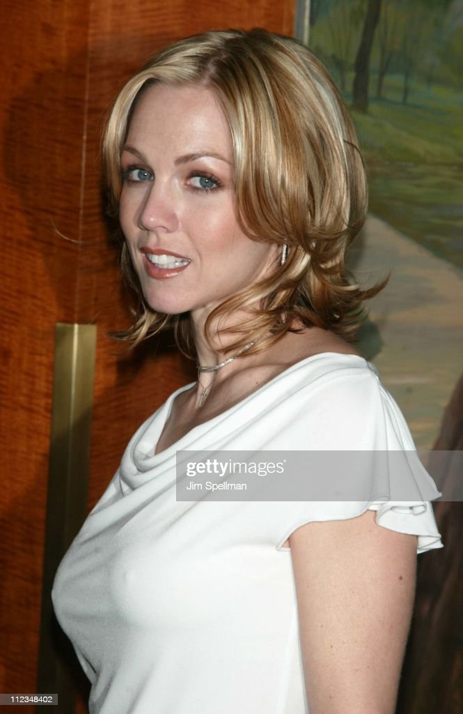 Jennie Garth during The WB Introduces Its 20022003 Schedule at New York Sheraton in New York City New York United States