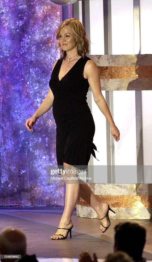 Jennie Garth presents during The 4th Annual Family Television Awards Show at The Beverly Hilton Hotel in Beverly Hills California United States