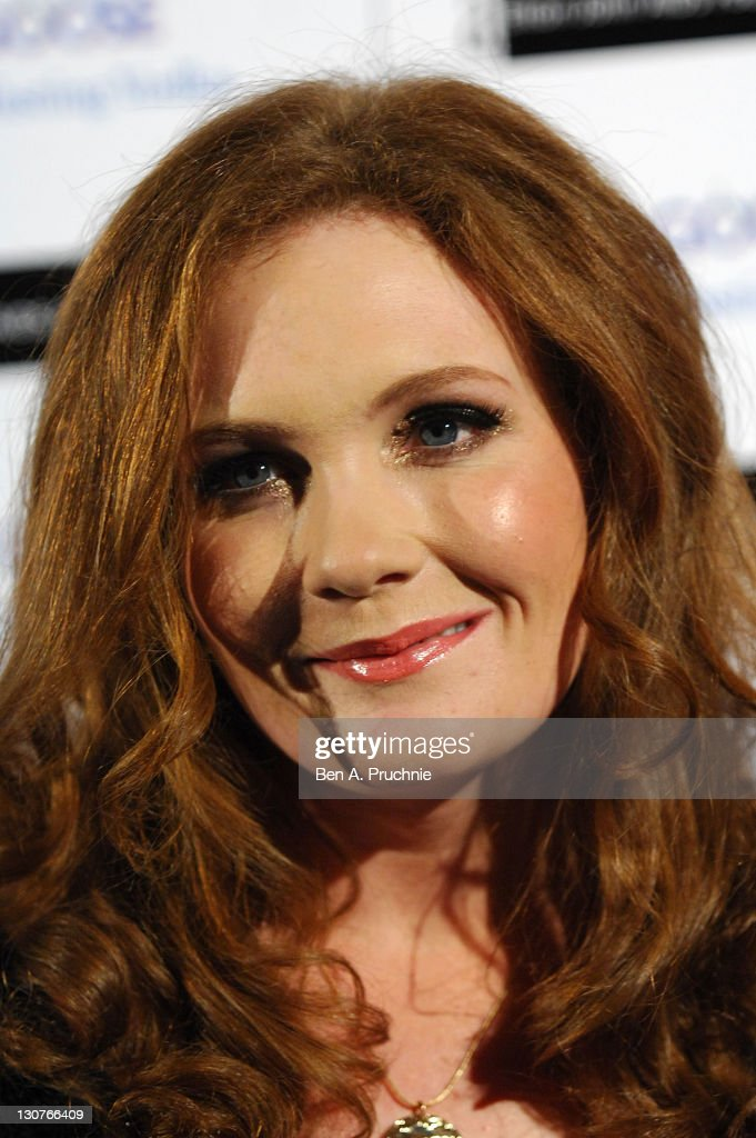 Jennie Mcalpine attends the Grey Goose Winter Ball at Battersea Park on October 29, 2011 in London, England.