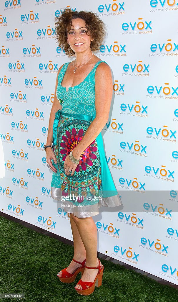 Jennie Nigrosh attends green carpet launch of Evox TV debuting Ed Begley's new family show 'On Begley Street' on September 15, 2013 in Pasadena, California.
