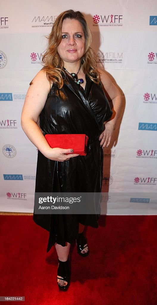 Jennie WalkerÊ attends opening night screening of 'Free Angela' during the 2013 Women's International Film and Arts Festival at Adrienne Arsht Center on March 20, 2013 in Miami, Florida.