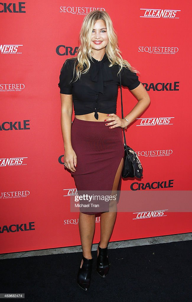 Jennifer Akerman arrives at the Crackle Original Series' 'Cleaners' and 'Sequestered' Summer premiere celebration held at 1 OAK on August 14 2014 in...