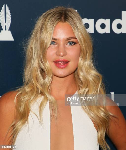 Jennifer Akerman attends the 28th Annual GLAAD Media Awards on April 01 2017 in Beverly Hills California