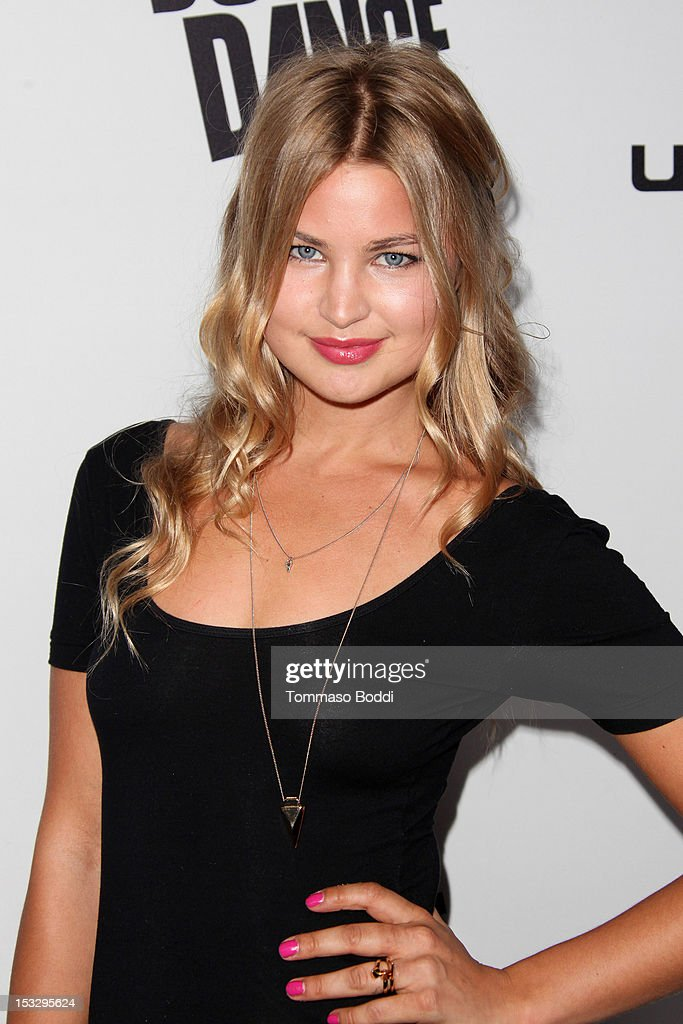 Jennifer Akerman attends the Ubisoft presents the launch of 'Just Dance 4' held at Lexington Social House on October 2, 2012 in Hollywood, California.